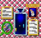 Dr. Mario SNES I eliminated the red virus.