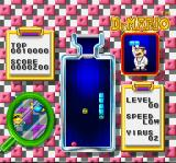 Dr. Mario SNES Now I am eliminating the blue virus.