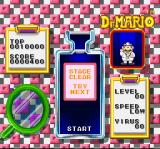 Dr. Mario SNES I got all the viruses. The stage is clear.