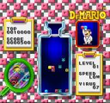 Dr. Mario SNES I have started stacking on a red virus.
