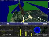 Microsoft Space Simulator DOS Lift-off from Cape Canaveral