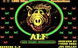 ALF: The First Adventure DOS Title screen