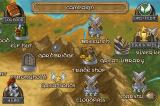 Defender Chronicles: Legend of The Desert King iPhone World map: Choose the next level or buy upgrades