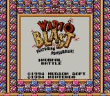 Wario Blast featuring Bomberman! Game Boy On the SGB, there is the option of playing the normal game or playing a multi-player battle mode.