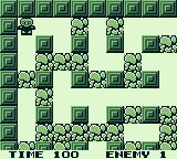 Bomber Man GB Game Boy Starting location