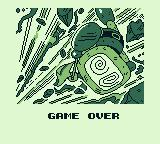 Bomber Man GB Game Boy I lost two out of three rounds. Game over.