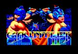 Gauntlet II Amstrad CPC Title screen