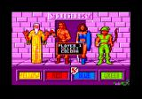 Gauntlet II Amstrad CPC Pick your colour and your character.