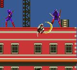 Shinobi Game Gear Red's strike with style! Take that!