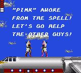 Shinobi Game Gear Pink awoke and let's use him right in the next map.