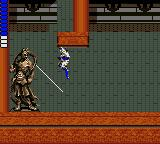 Shinobi Game Gear Inside the Woodland's castle there are these mysterious statues which fire rays!