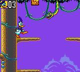 Deep Duck Trouble starring Donald Duck Game Gear Take that, ugly snake!
