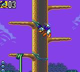 Deep Duck Trouble starring Donald Duck Game Gear Hang on, Donald!