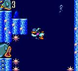 Deep Duck Trouble starring Donald Duck Game Gear Those big fishes are sleeping, but their breath is quite powerful.