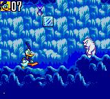 Deep Duck Trouble starring Donald Duck Game Gear Take that, you ugly Yeti monster (or whatever it is).