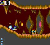 Deep Duck Trouble starring Donald Duck Game Gear This small fire is scary!