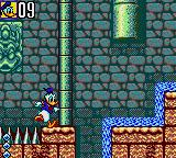 Deep Duck Trouble starring Donald Duck Game Gear Oops! One inch less and...