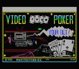 Las Vegas Video Poker MSX Loading screen