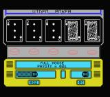 Las Vegas Video Poker MSX A full house pays 21 to 1.