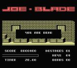 Joe Blade MSX Wrong code. I died.