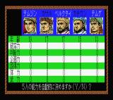 Genghis Khan MSX Choose your character.
