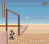 Star Wars Game Gear Beginning of the first level where we play as Luke