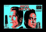 Red Heat Amstrad CPC Title screen