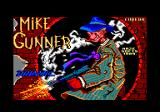 Mike Gunner Amstrad CPC Loading screen