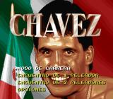 Chavez SNES Title screen and main menu