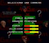 Chavez SNES Select a boxer for career mode