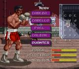 Chavez SNES Creating a boxer