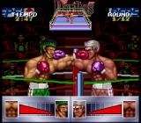 Chavez SNES Throwing punches at each other