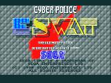 E-SWAT: Cyber Police Amiga Title screen