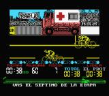 Tour 91 MSX You know it's a real race when they have an ambulance...