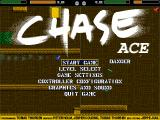 Chase Ace Windows The title screen/main menu