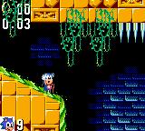 Sonic the Hedgehog Game Gear First labyrinth level and falling into the water. After that, no way of coming back.