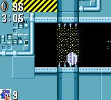 Sonic the Hedgehog Game Gear Using teleporters.