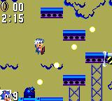 Sonic the Hedgehog Game Gear Not only there is lighting and the usual enemies, traps and moving platforms but cannons try to make the game more exciting!