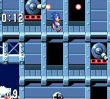 Sonic the Hedgehog Game Gear The airship's main weapons are cannons, and she's full of them!