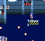 Sonic the Hedgehog Game Gear There is another way to get in the ship... around it :)