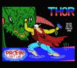 Thor MSX Loading screen