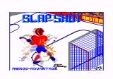 Slapshot Amstrad CPC Loading screen