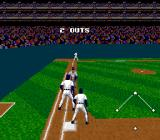 Tecmo Super Baseball SNES Got tagged out
