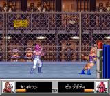 Kinnikuman: Dirty Challenger SNES Thrown against the ropes