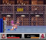 Kinnikuman: Dirty Challenger SNES Getting choked from behind