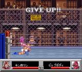 Kinnikuman: Dirty Challenger SNES About to give up the fight and lose