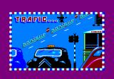 Traffic Amstrad CPC Title screen (French version)