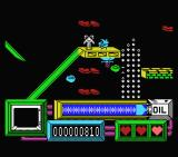 Coil Cop MSX Starting the first level.