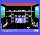 Chicken Chase MSX What looks like a hedgehog has entered the hen house. THIEF!