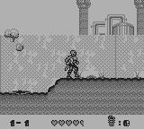 Toxic Crusaders Game Boy Deadly drops and deadly bubbles